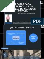 9 PASOS PARA DESARROLLAR UN MODELO DE NEGOCIOS EXITOSO
