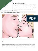 Cómo acariciar a una mujer