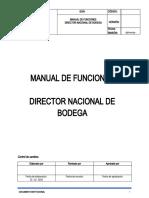 MANUAL DE FUNCIONES - DIRECTOR DE BODEGA.doc