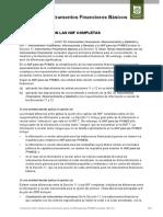 11_Instrumentos Financieros basicos Comparación NIIF - NIIF Pymes