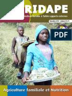 AGRIDAPE_30-_4_Agriculture_Familiale_et_Nutrition