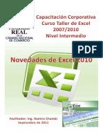 4. NOVEDADES DE EXCEL 2010