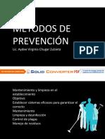seguridad e higiene-MÉTODOS DE PREVENCIÓN