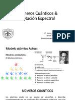 Numeros cuanticos y notacion espectral