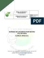 PS-EF-PR-007-EGRESO DE USUARIOS POR RETIRO VOLUNTARIO