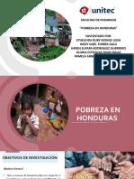 Presi_Pobreza en Honduras