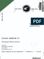 Lunar Orbiter 4 - Photographic Mission Summary, Volume 1