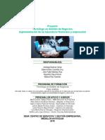 informe de sectores de baydewey