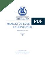 Manejo de Excepciones y Eventos