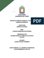 COLEGIO DOMINICANO DE NOTARIOS