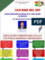 6-SISTEMA EDUCATIVO PLURINACIONAL