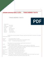 DRAMA BAHASA BALI LUCU. . . TIWAS MENEK TAHTA.pdf