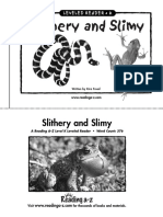 K-Slithery and Slimy