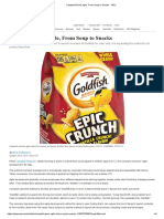 Case Study - Campbell Goes Agile, From Soup to Snacks (Food Industry)