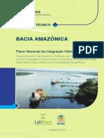 ANTAQ - Relatório Técnico da Bacia Amazônica