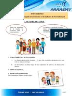 Ps;Tema 5 La Familia -Caracteristicas y Tipos