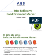 1612 - Hi-Brite Reflective Road Studs - Introduction