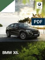Ficha Técnica BMW X6 xDrive35iA M Sport 2019