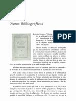 v.1, n.1, reseña sobre 'algunas consideraciones...' de Gamio