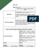 MF2 HASTA 6SS Plan de actividades  Locomotor Cy C.