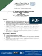 Eval-Dist. 73949 Vías 2020-1