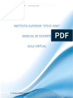 MANUAL DE DOCENTE aula virtual