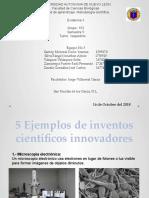 5 inventos cientificos evidencia 3 segundo parcial