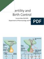 Fertility and birth control