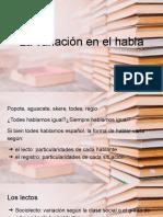 La variación en el habla- lectos y registros.pptx