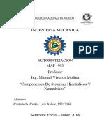 Componentes de sistemas hidraulicos y neumaticos