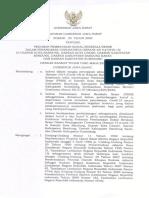 Pergub Jabar No. 30 Tahun 2020 tentang Pedoman PSBB di Wilayah Bandung Raya