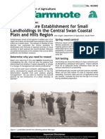 Annual Pasture Establishment