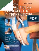 [Contemporary Perspectives in Rehabilitation] James W Bellew, Susan L Michlovitz, Thomas P Nolan, Jr. - Michlovitz's Modalities for Therapeutic Intervention (2016, F.A. Davis Company) (1)