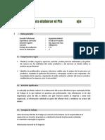 Guía y Rubrica PT  Practicas Pre I