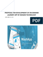 Proposal - On Demand Laundry Development Solutions_Praveen.pdf