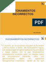 RAZONAMIENTOS INCORRECTOS PDF