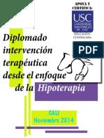 INTERVENCIÓN TERAPEÚTICA. HIPOTERAPIA