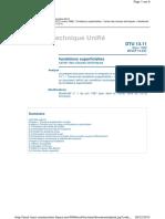 DTU 13.11 (DTU P11-211_CCT)