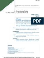 DTU 13.3 (NF P11-213-4)