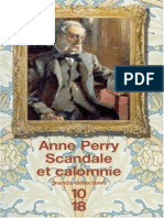 Anne Perry William Monk Scandale Et Calomnie