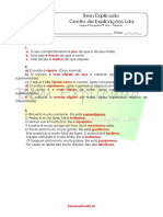 Adjetivo (1) - Soluções