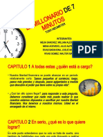 PRESENTACION EL MILLONARIO DE 7 MINUTOS