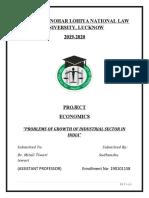 Economics-1 Project