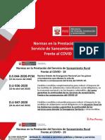 Normas en la Prestación del Servicio de Saneamiento Rural Frente al COVID Ing. Úrsula Morales-PNSR 20 mayo 2020.pptx