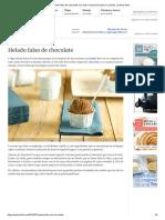 Helado falso de chocolate con leche evaporada bajo en calorías. _ webos fritos.pdf
