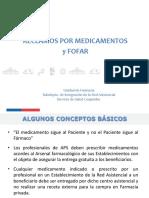 GESTION RECLAMOS Medicamentos y FOFAR 2016 Curso OIRS.pdf