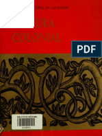 Pintura Colonial Instituto Cultural de Las Condes