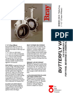 Series 20-21 SS Butterfly Valves