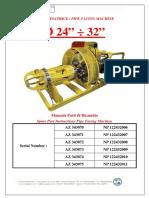 Manuale RICAMBI Az343070-71-72-73-74-75