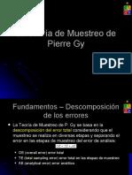 Clase de Pierre Gy